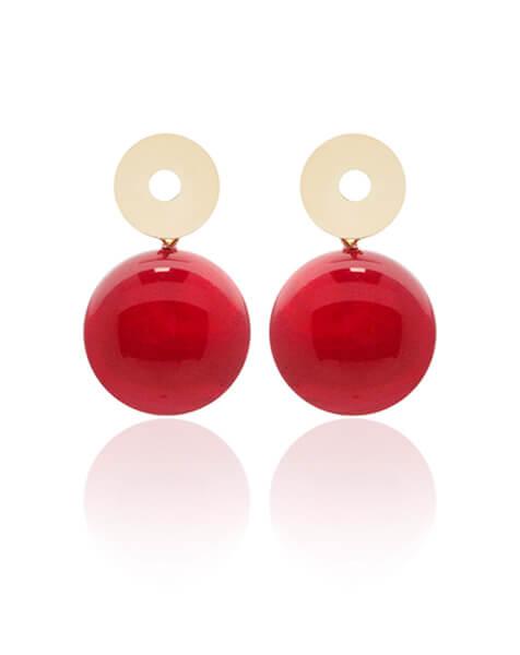 Taglio Pietre BLOG CABOCHON rosso - Paviè bijoux artigianali