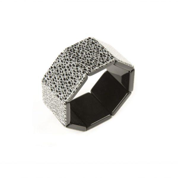 Bracciale a fascia 70B argento - Paviè bijoux artigianali