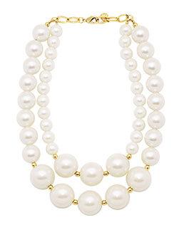 Filo di perle Collana 94E - Paviè bijoux artigianali