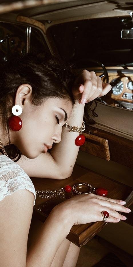 taglio a cabochon N°10 - new collection 2017 - Paviè bijoux artigianali
