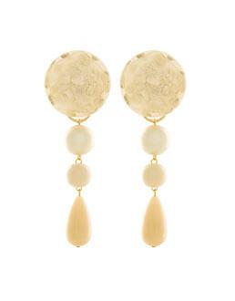 Due in uno Orecchini 75B - Paviè bijoux artigianali