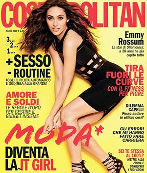 cosmopolitan magazine - Paviè bijoux artigianali
