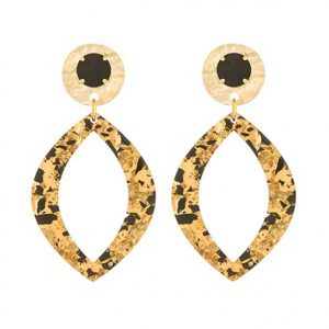 Good Online Shopping | Swarovski Resin Oval Earrings - Paviè Bijoux