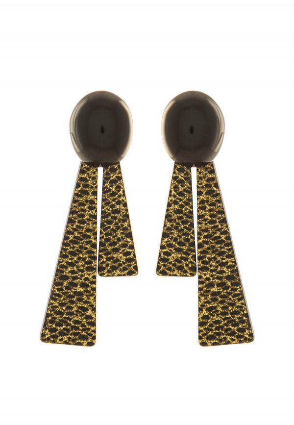 Bijoux Online Shop   Orecchino Triangolo oro Collezione Maia - Paviè Bijoux